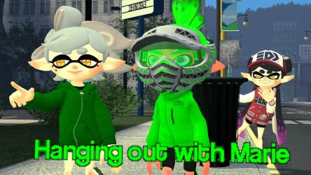 Splatoon GMOD - Hanging out with Marie by ASpider25