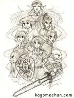 LOZ: The Seven Sages by I-heart-Link