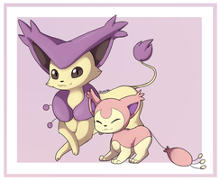 Delcatty and Skitty