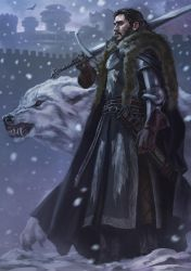 Warden of The North by Drawslave