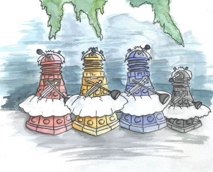 Daleks' Swan Lake by Cryptkeeper777