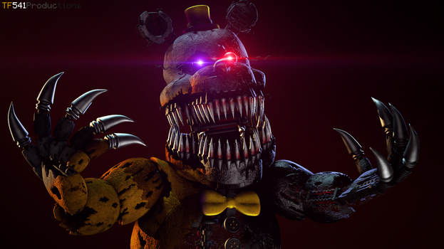 Workshop Posters: Nightmare Fredbear v3 by TF541Productions
