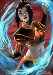 Azula Fanart Request by sylessae