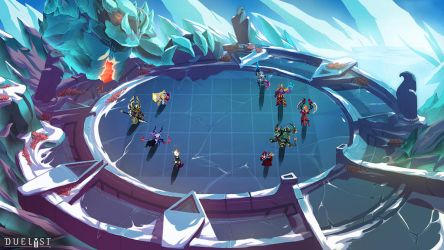 DUELYST: Vanar Battlemap by 152mm
