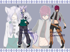 [OPEN - Auction] Collab Adopts by KairiCat7