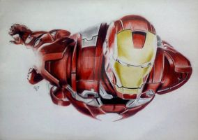 Iron Man by pint-sizedsurprise17