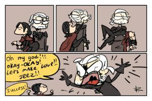 The Witcher 3, doodles 109 by Ayej