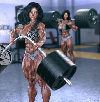 Gym by Devious3D
