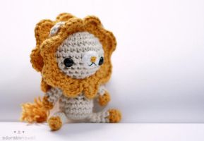 Lion Amigurumi by adorablykawaii