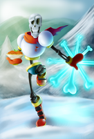 Papyrus from Undertale by capitanusop