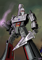 SPEED PAINT Megatron by KevinTrentin