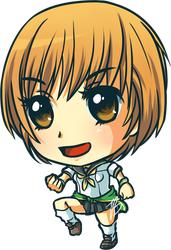 Chie Satonaka Sticker by Fuu-kun