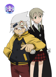 Soul Eater  019 Render by AeNa34