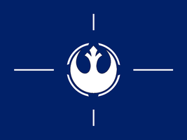 My Rebel Alliance Flag by 3D4D