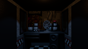 FNaF 1 Map V4 Blender Release by Spinofan10