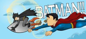 Because He's Batman by Empty-Brooke