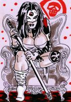 Katana Sketch card by mrpulp-presenta