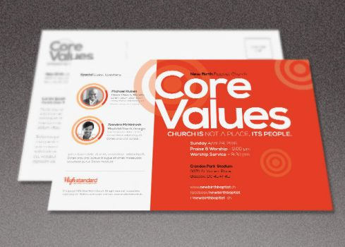 Core Church Flyer Template by loswl