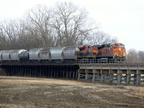 Railfan Trip: 2-18-18: Half and Half by lonewolf3878