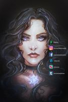 Yennefer by Ysenna