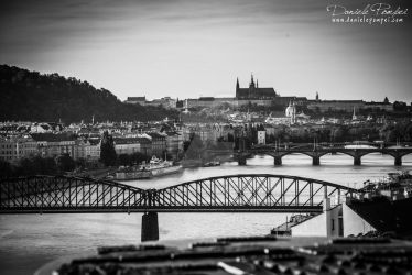 Prague from Vysehrad by OttoMarzo