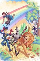 Dorothy of Oz Prequel 1 cover by khaamar