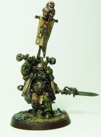 Plague Marine Sorcerer by cyphercodicer2