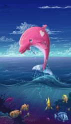 Commission - Seas of Pink by joanniegoulet
