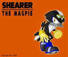 Shearer the Magpie by TheStiv