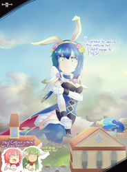 Fire Emblem- Special Bunny Outfit by GamefreakDX