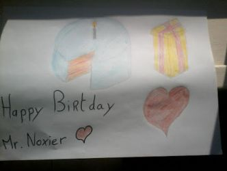 Mr.Noxier B-Day by CruSir-The-Pegasus