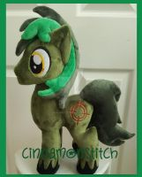 mlp plushie commission OC Target Strike by CINNAMON-STITCH