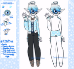 December Adopt - Jack frost [closed] by hello-planet-chan