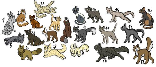 OTA CAT ADOPTS (POINTS OR ART, POINTS PREFERRED) by Jolteonlove33