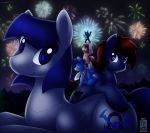 Commission: New Year~! by SkyHeavens
