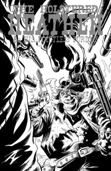 Holstered Heathen #1 cover by IanJMiller