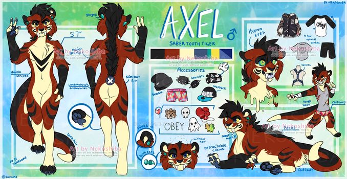 Axel Reference by Nekoshiba