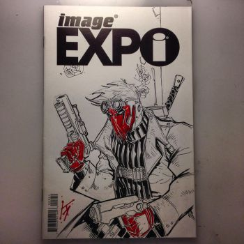 Grifter Sketch Cover by KomicKarl