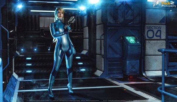 Samus Aran - Metroid: Other M. Cosplay by LiKovacs