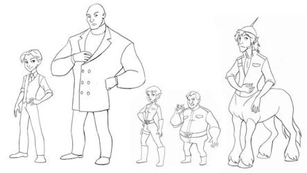 Artemis Fowl characters-final by heatherbunny