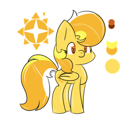 My MLP OC - Shiny Day by SplashyLife