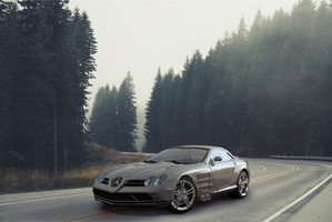 Mercedes Mc-laren SLR-2 by ishaansharma456
