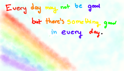 Every Day by TheCourageousCat