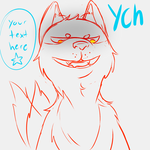 Funny Dog YCH Unlimited Slots by Chako-Adopts