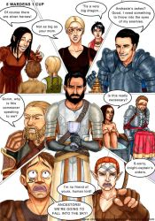 C and H: 8 Wardens, 1 Cup by Ddriana