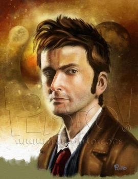 The 10th Doctor by jonpinto