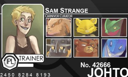 Trainer Card for IPL by InfinitelyUncanni