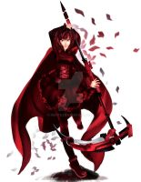RWBY - Ruby Rose by Rin-Te