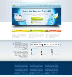 Landind Page Template by dynamicmk