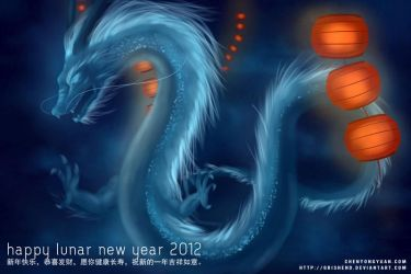 Happy Lunar New Year 2012 by Grishend